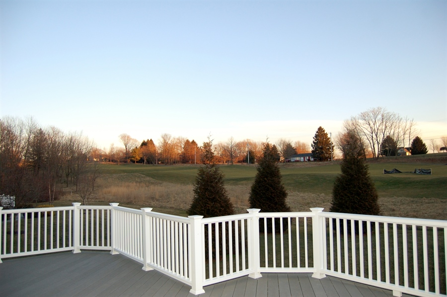 Real Estate Photography - 135 Portmarnock Dr, Avondale, PA, 19311 - Views from the Rear Deck