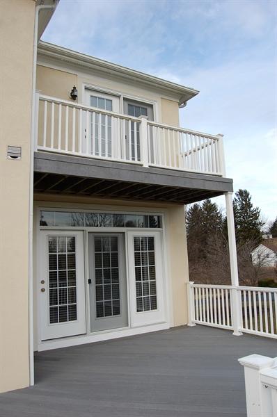 Real Estate Photography - 135 Portmarnock Dr, Avondale, PA, 19311 - Master Bedroom Balcony