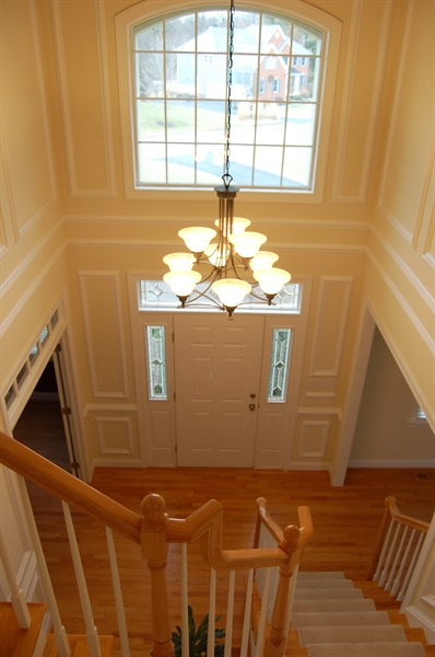 Real Estate Photography - 135 Portmarnock Dr, Avondale, PA, 19311 - Two Story Foyer