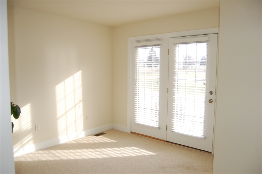 Real Estate Photography - 135 Portmarnock Dr, Avondale, PA, 19311 - Master Bedroom with French Doors to Balcony