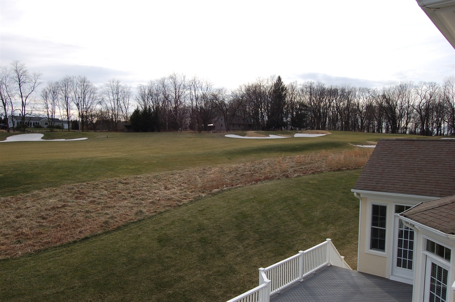 Real Estate Photography - 135 Portmarnock Dr, Avondale, PA, 19311 - Views from Master's Balcony