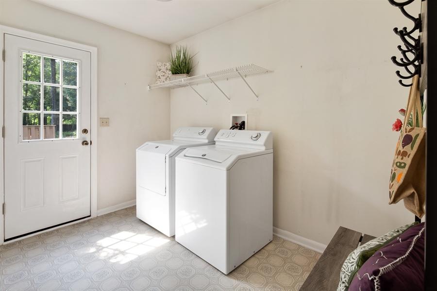 Real Estate Photography - 16 Woodshaw Rd, Newark, DE, 19711 - Main Floor Laundry