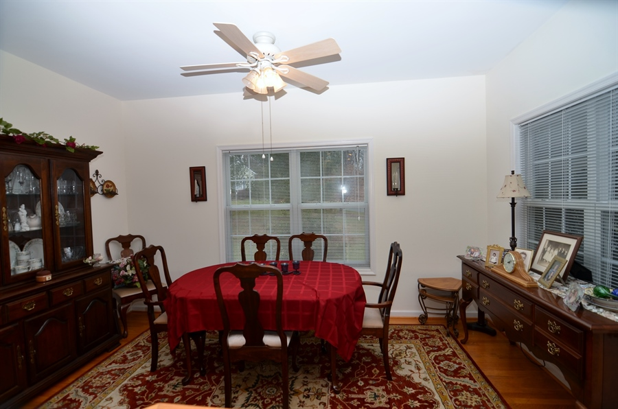 Real Estate Photography - 116 Gregg Dr, Wilmington, DE, 19808 - Formal Dining Room with Hardwood Floors