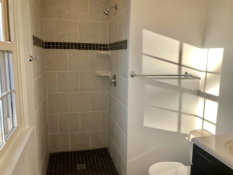 Real Estate Photography - 2211 Charwood Dr, Wilmington, DE, 19810 - Master Stall Shower