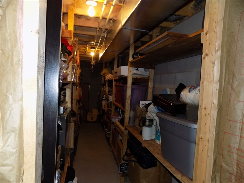 Real Estate Photography - 236 Waterway Rd, Oxford, PA, 19363 - Lots of storage shelves