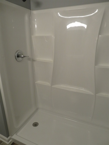 Real Estate Photography - 506 Faraday Rd, Hockessin, DE, 19707 - Master Bath Standing Shower