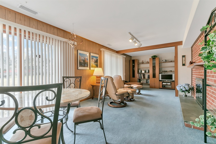 Real Estate Photography - 265 Pond Dr, Hockessin, DE, 19707 - Lower level family room w/lots of natural light