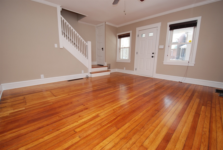 Real Estate Photography - 406 S Sycamore St, Wilmington, DE, 19805 - Refinished hardwood floors