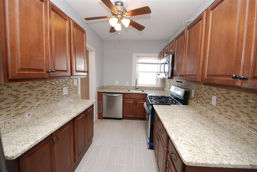 Real Estate Photography - 406 S Sycamore St, Wilmington, DE, 19805 - Smart use of space for new kitchen