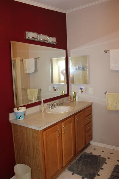 Real Estate Photography - 552 Weaver Dr, Dover, DE, 19901 - Master Bathroom