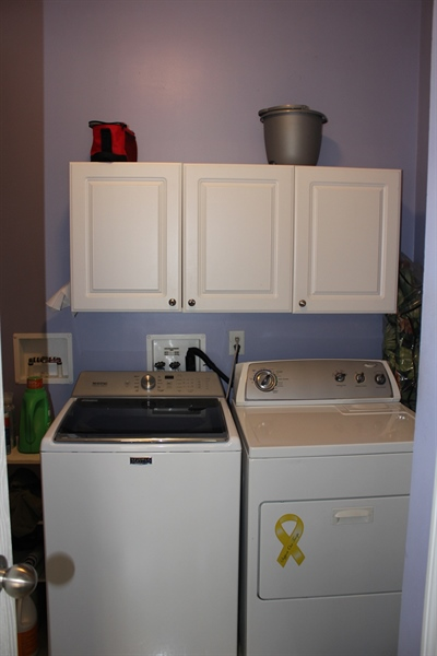 Real Estate Photography - 552 Weaver Dr, Dover, DE, 19901 - Laundry room