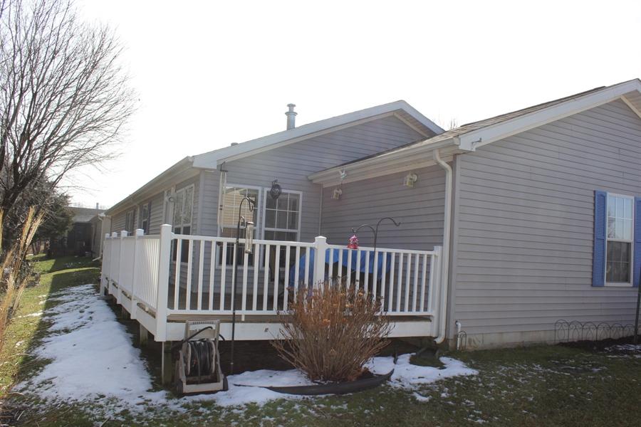 Real Estate Photography - 552 Weaver Dr, Dover, DE, 19901 - Back deck