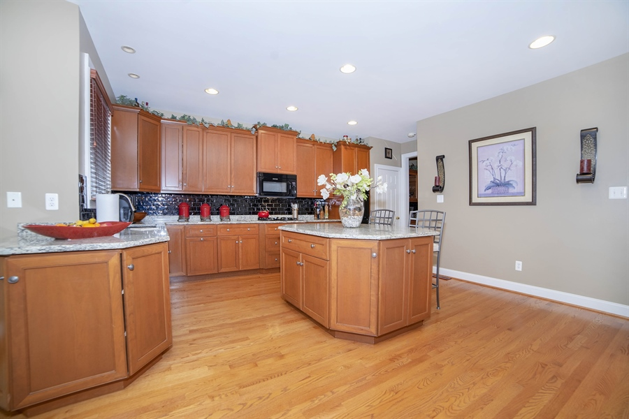 Real Estate Photography - 8 Kentshire Ct, Wilmington, DE, 19807 - Family Room with Gas Fireplace