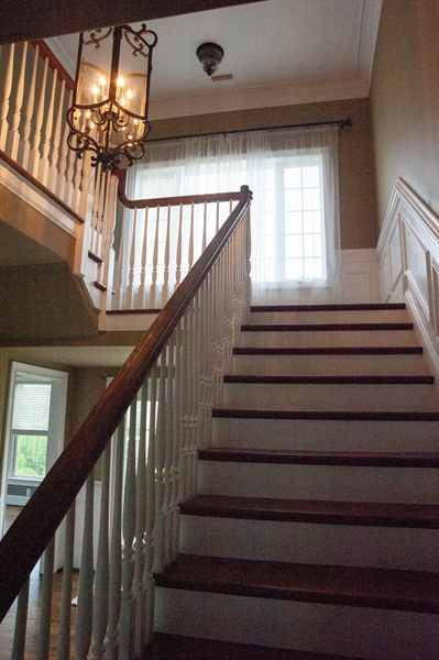 Real Estate Photography - 102 Wyndham Hill Dr, Kennett Square, PA, 19348 - Foyer Stairs