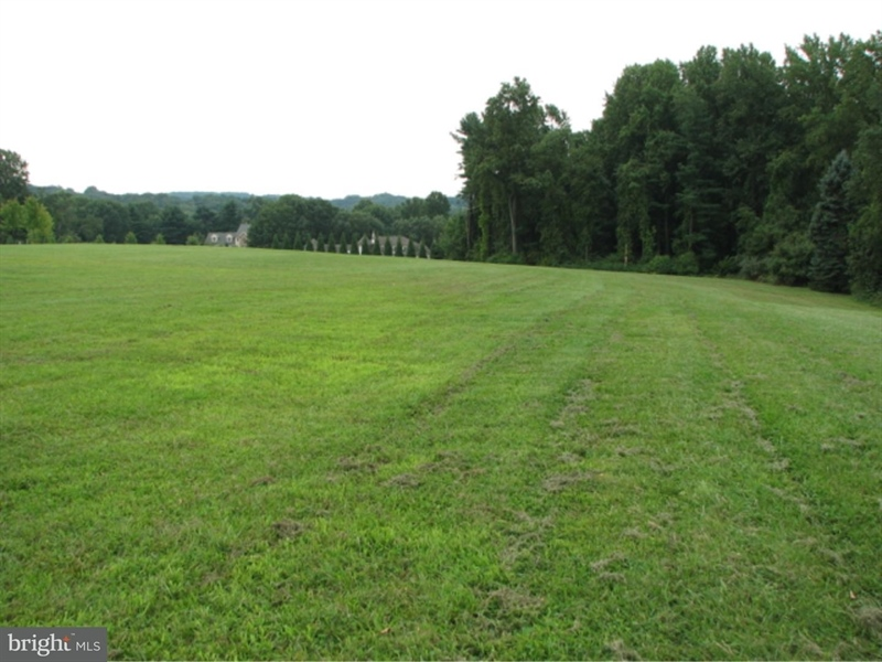 Real Estate Photography - 105 Avery Rd, Kennett Square, PA, 19348 - Side View of Lot in The Hamlet