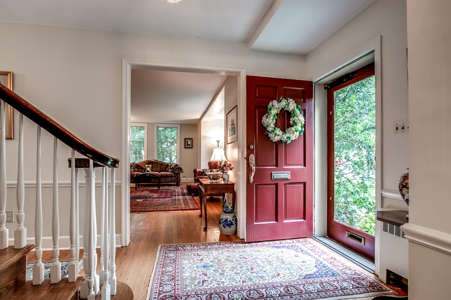 Real Estate Photography - 3202 Swarthmore Rd, Wilmington, DE, 19807 - Welcoming Entry