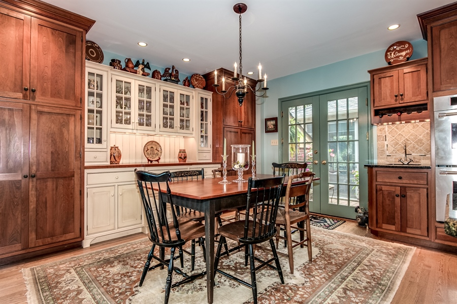 Real Estate Photography - 3202 Swarthmore Rd, Wilmington, DE, 19807 - Beautiful Cabinetry by Paradise Kitchens