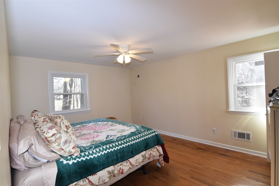 Real Estate Photography - 2 Galaxy Dr, Newark, DE, 19711 - Master BR with walk-in closet & private full bath
