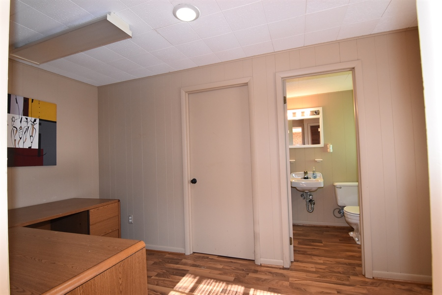 Real Estate Photography - 2 Galaxy Dr, Newark, DE, 19711 - 2nd view of Office & Powder room