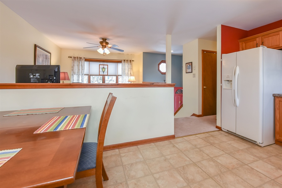 Real Estate Photography - 512 Saint Charles St, Elkton, MD, 21921 - Open kitchen to living room
