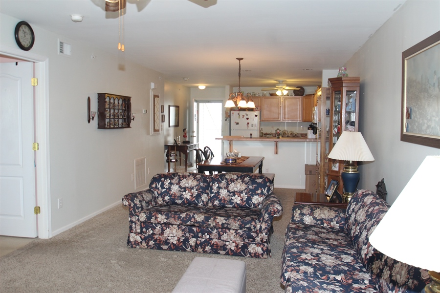Real Estate Photography - 1860 Congressional Village Drive #6303, 6303, Middletown, DE, 19709 - Open Floor Plan