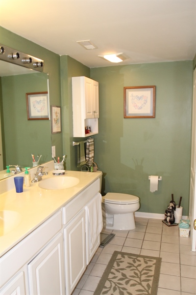 Real Estate Photography - 1860 Congressional Village Drive #6303, 6303, Middletown, DE, 19709 - Master Bath