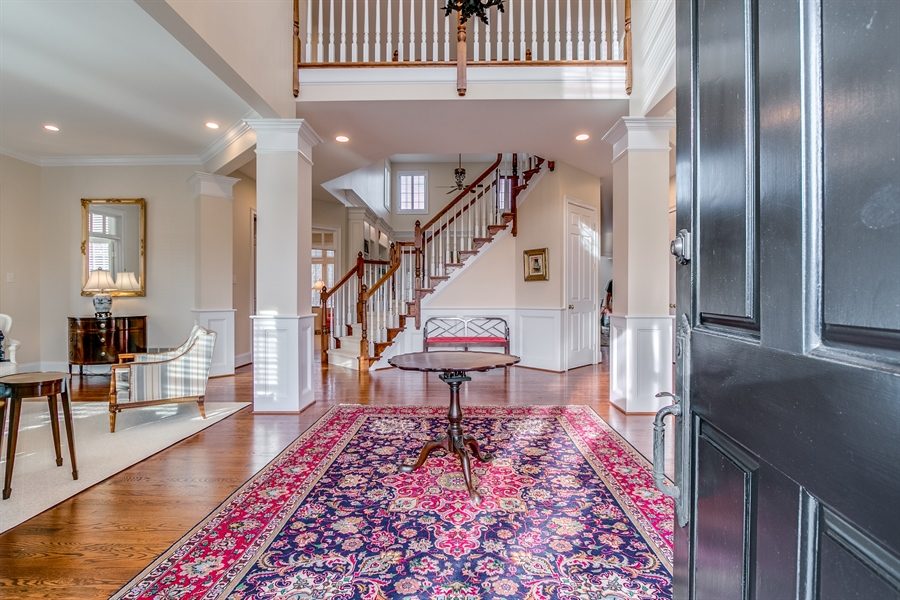 Real Estate Photography - 400 Woodale Dr, Kennett Square, PA, 19348 - Entrance Hall