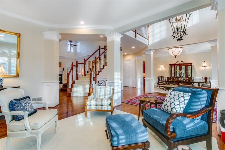 Real Estate Photography - 400 Woodale Dr, Kennett Square, PA, 19348 - Living Room