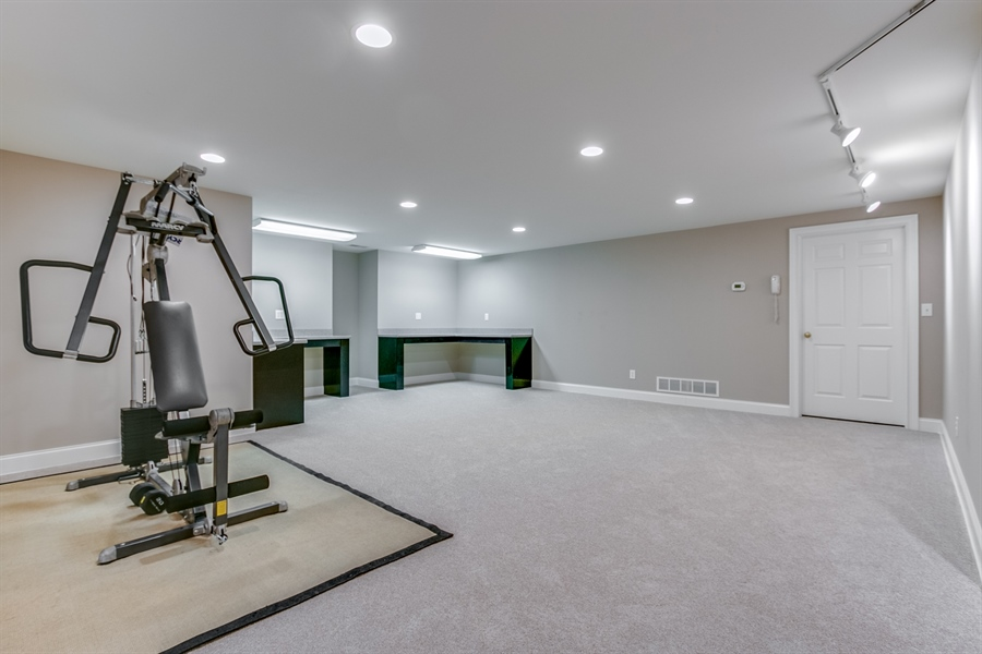Real Estate Photography - 400 Woodale Dr, Kennett Square, PA, 19348 - Exercise Room