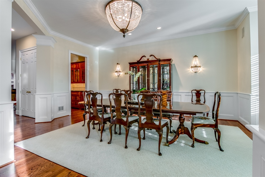 Real Estate Photography - 400 Woodale Dr, Kennett Square, PA, 19348 - Dining Room