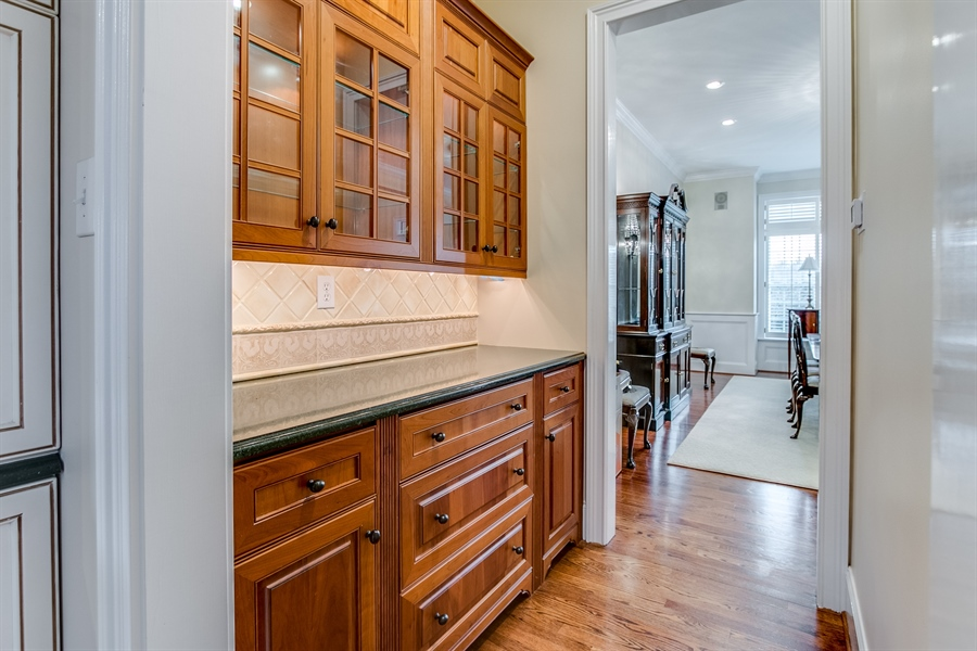 Real Estate Photography - 400 Woodale Dr, Kennett Square, PA, 19348 - Butler's Pantry