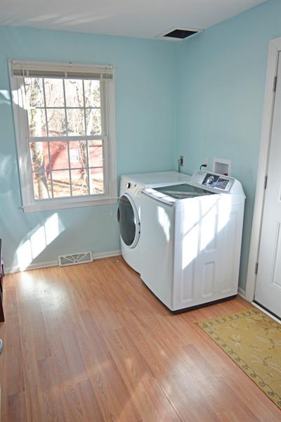 Real Estate Photography - 102 Rhett Ct, Elkton, MD, 21921 - Laundry Room