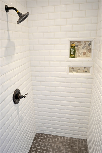Real Estate Photography - 102 Rhett Ct, Elkton, MD, 21921 - Master Bathroom with Tiled Shower