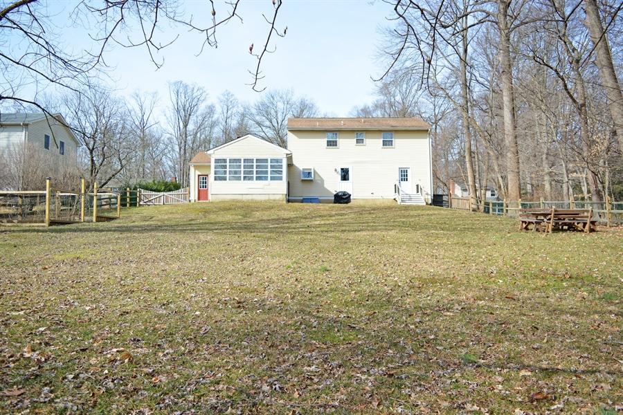 Real Estate Photography - 102 Rhett Ct, Elkton, MD, 21921 - Large Fenced Rear Yard