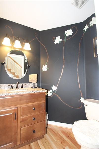 Real Estate Photography - 140 Brookview Loop, Elkton, MD, 21921 - Powder Room