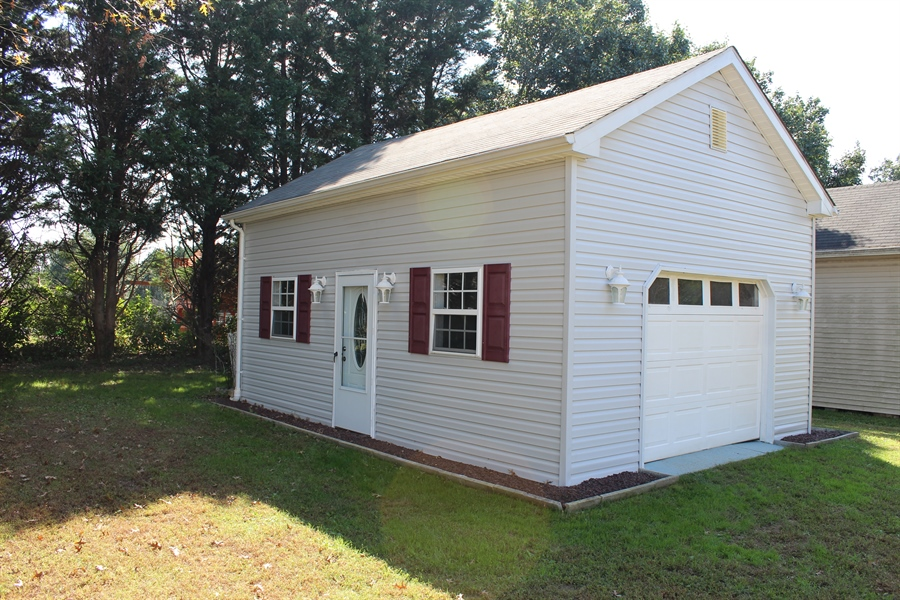 Real Estate Photography - 140 Brookview Loop, Elkton, MD, 21921 - Detached Garage/Shed