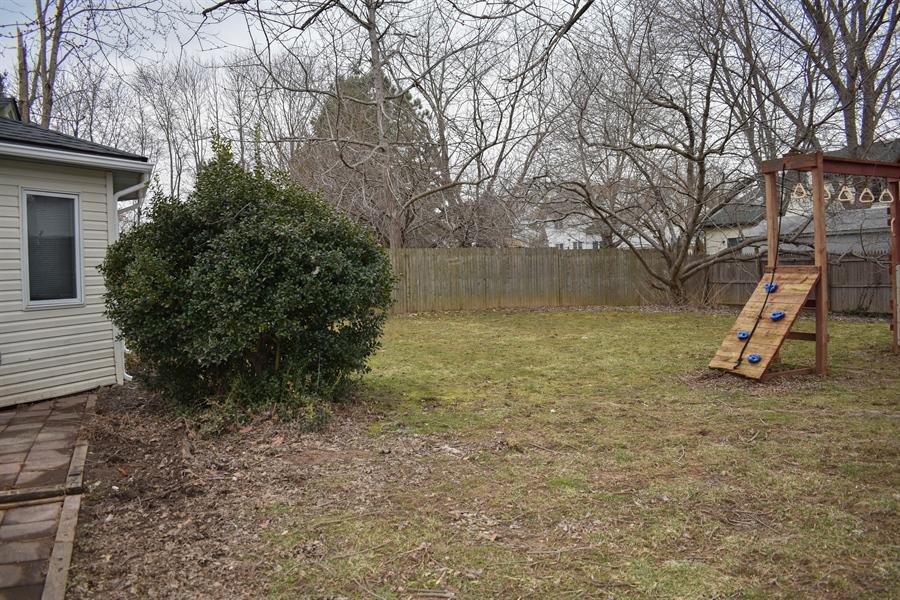 Real Estate Photography - 1267 S Farmview Dr, Dover, DE, 19904 - Backyard Fence