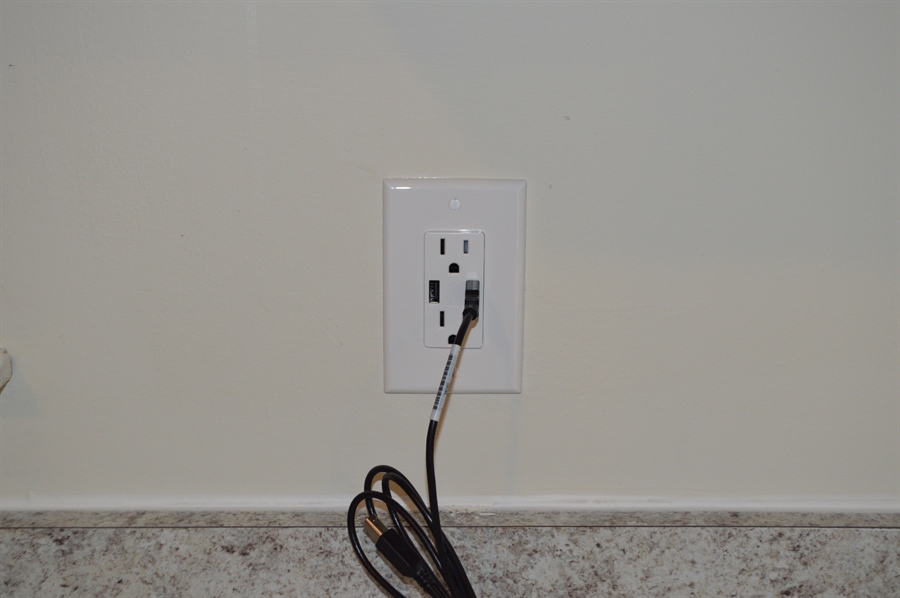 Real Estate Photography - 149 Ben Boulevard, Elkton, DE, 21921 - 4 USB fast charge electric outlets around home