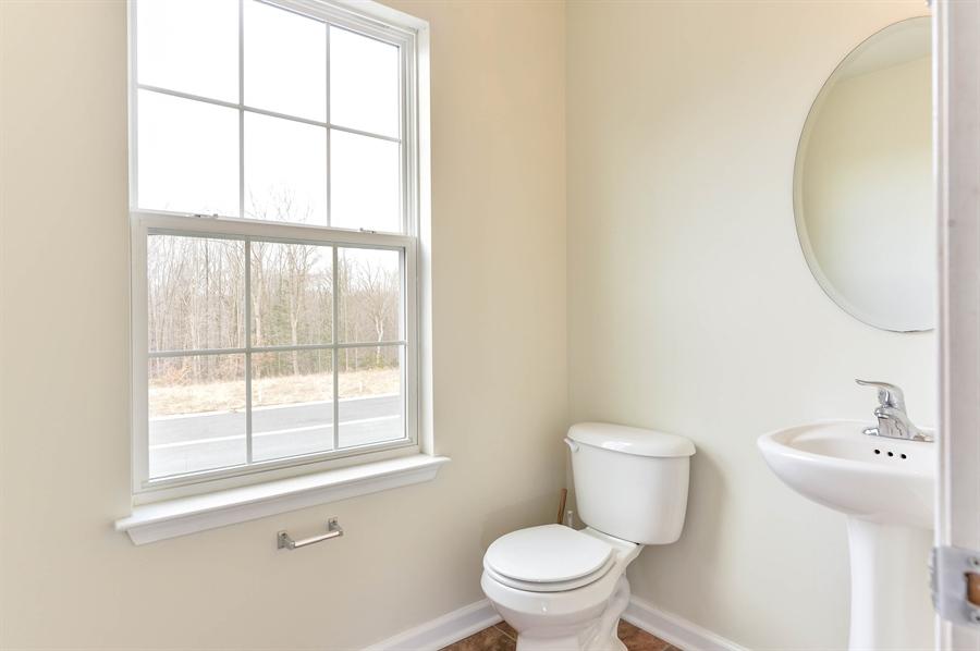 Real Estate Photography - 149 Ben Boulevard, Elkton, DE, 21921 - Conveniently located Powder Room