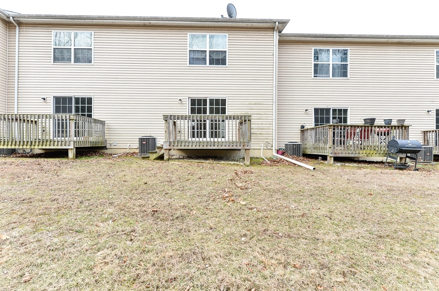 Real Estate Photography - 149 Ben Boulevard, Elkton, DE, 21921 - View of deck from back