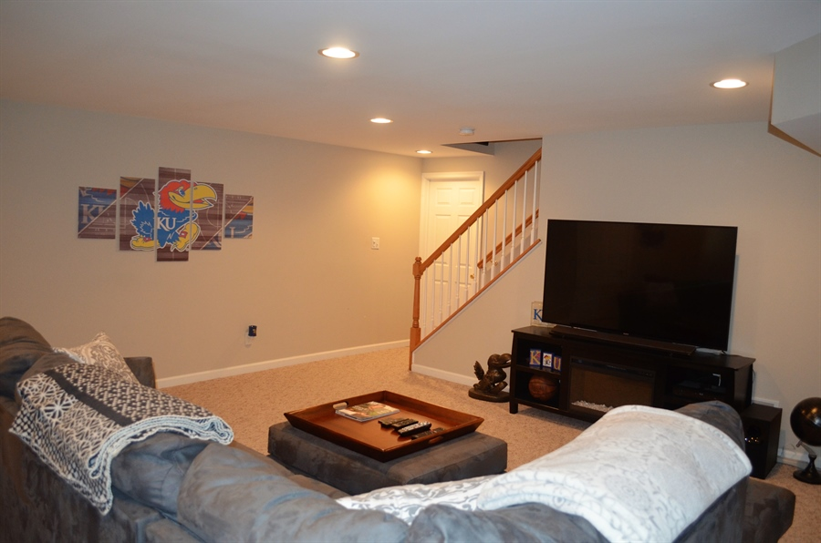 Real Estate Photography - 702 6th St, Newark, DE, 19711 - Finished Lower Level