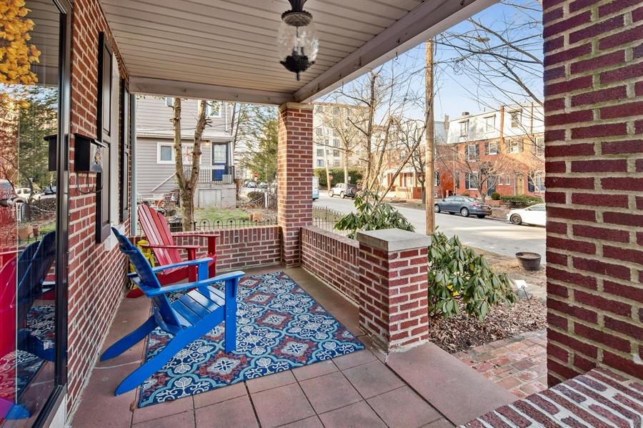 Real Estate Photography - 1324 Shallcross Ave, Wilmington, DE, 19806 - Deep front porch