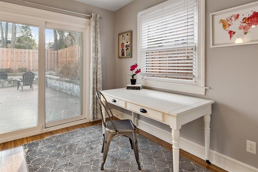 Real Estate Photography - 1324 Shallcross Ave, Wilmington, DE, 19806 - Sunroom or first floor study or den!