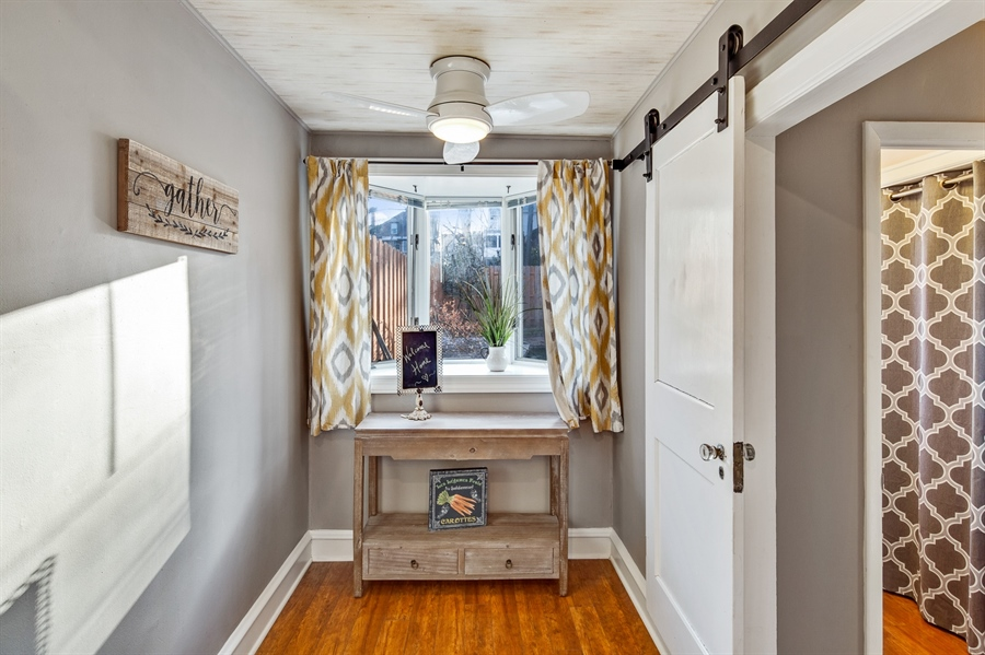 Real Estate Photography - 1324 Shallcross Ave, Wilmington, DE, 19806 - Eat-in breakfast nook with raised bay window