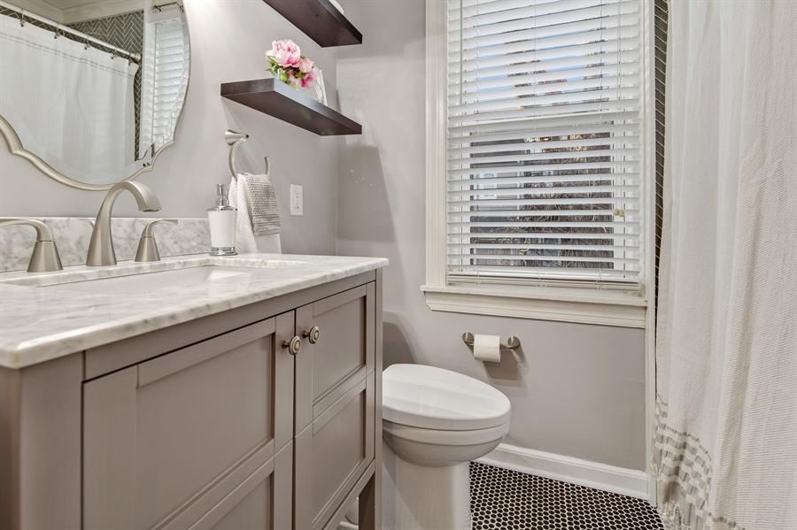 Real Estate Photography - 1324 Shallcross Ave, Wilmington, DE, 19806 - Full bathroom on second floor
