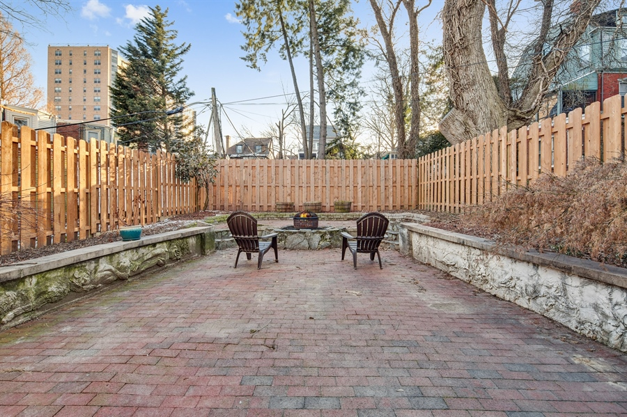 Real Estate Photography - 1324 Shallcross Ave, Wilmington, DE, 19806 - Ideal City yard with patio and raised beds