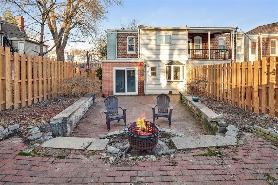 Real Estate Photography - 1324 Shallcross Ave, Wilmington, DE, 19806 - Outdoor living space for entertaining/enjoyment