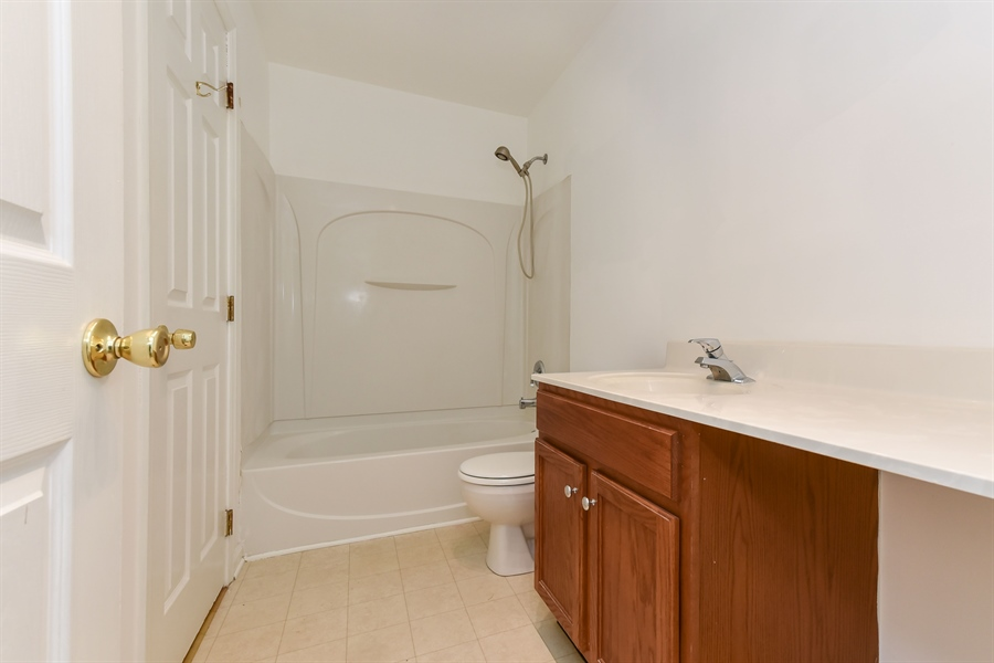 Real Estate Photography - 51 Mule Deer Ct, Elkton, MD, 21921 - Vanity with room for seating (or laundry hamper)