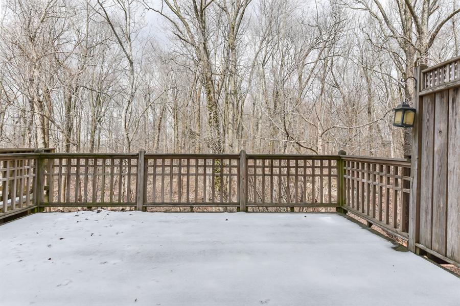 Real Estate Photography - 51 Mule Deer Ct, Elkton, MD, 21921 - 16 x 14 oversized deck overlooks woods