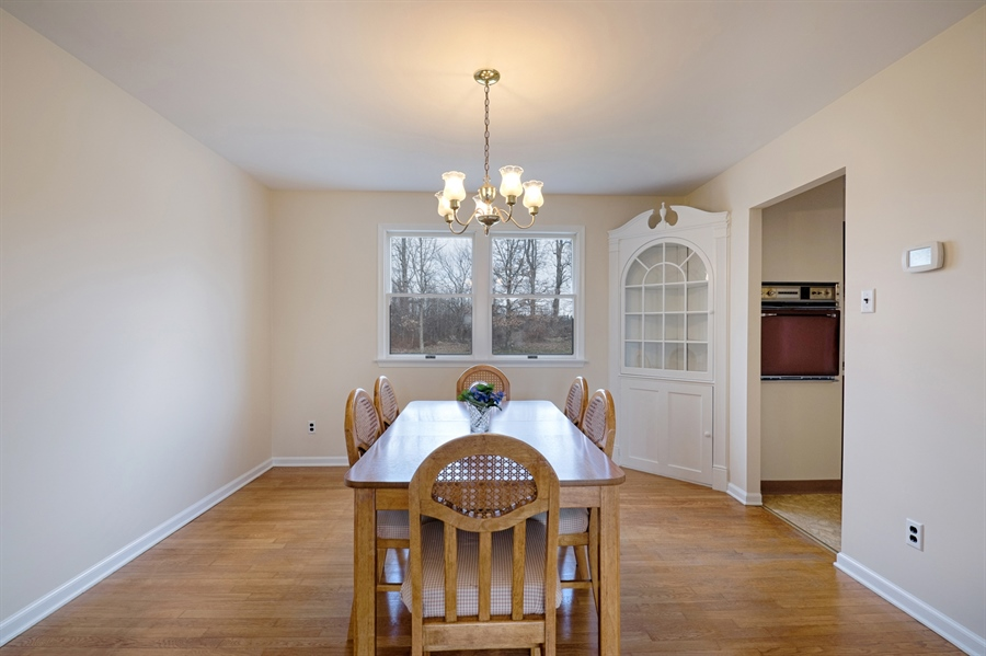 Real Estate Photography - 25 Kennedy Blvd, Elkton, MD, 21921 - DINING ROOM ENTRANCE FROM LIVING ROOM